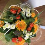 Les bouquets de fleurs ronds, l'Atelier floral , fleuriste à Romilly sur Seine dans l'Aube, 10