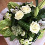 Les bouquets de fleurs ronds, l'Atelier floral à Romilly sur Seine dans l'Aube, 10